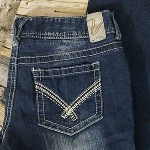 Vanity jeans size 31W/35L Boot